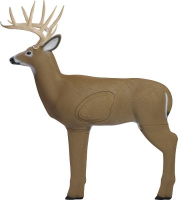 Hunting With a 25% larger insert than comparable 3-D targets, this lifelike target will stand up to hundreds of impacts from field tips, broadheads and expandables. A 125 Pope Young rack, lifelike detail and a 31 shoulder height give it the look of a real buck. Legs remove for easy storage. Weather-resistant construction. Made in USA. Color: Brown. Type: 3D Targets. - $89.99