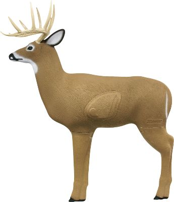Hunting With a 25% larger replacement core than comparable 3-D targets, this lifelike archery target will stand up to hundreds of impacts from field tips, broadheads and expandables. A 125 Pope Young rack, lifelike hair and a 33 shoulder height give it the realistic look and size of a real buck. Easy arrow removal. Weather-resistant construction. Made in USA. Color: Brown. Type: 3D Targets. - $114.99