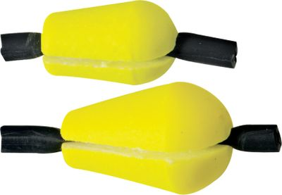Fishing With Tipper Strike Indicators, the leader is secured with a twist of the rubber leader grabber, eliminating leader-pinching pegs that can interfere with other tackle. Sizes: Mini, Per 6 Small, Per 6 Medium, Per 6 Large, Per 4 Colors: Red, Yellow. Color: Red. Type: Strike Indicators. - $4.99