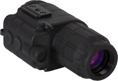 Hunting For nighttime hunting or observation, get a bright, clear image with Sightmark Ghost Hunter Night Vision optics. High-power infrared illuminator delivers exceptional image and resolution quality in complete darkness. Unit automatically turns off when exposed to bright light sources. 1/4 tripod socket. Ergonomic design and quick power-up. Lightweight and durable composite body. Includes nylon carry case and lens cloth. Three-year image intensifier tube warranty and a limited lifetime warranty for the housing, mount and remaining features. Available: 1x24 Monocular Kit Equipped with a head mount for hands-free operation, the unit can be flipped up when not in use. 30 field of view. Runs on two AA batteries (not included). Dimensions: 5.5L x 2.3W x 2.9H. Weight: 13.4 oz. 2x24 Monocular Compact body for easy travel. 2X magnification for close-range observation. 25 field of view. Runs on two AA batteries (not included). Dimensions: 5.5L x 2.3W x 2.9H. Weight: 8.8 oz. 4x50 Monocular Great for prolonged viewing on dark nights. 4X magnification for medium-range observation. 15 field of view. Runs on two AA batteries (not included). Dimensions: 7.3L x 2.4W x 3.3H. Weight: 14.1 oz. 1x24 Binocular Kit Equipped with a head mount for hands-free operation, the unit can be flipped up when not in use. Dual tube system is more comfortable and easier on your eyes. Runs on two AAA batteries (not included). Dimensions: 5.4L x 4.4W x 2.4H. Weight: 13.8 oz. 2x24 Binoculars Compact body for easy travel. Great for prolon Color: Clear. Type: Night Vision Monoculars. - $239.99