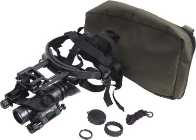 Hunting Versatile, military-inspired Generation 3 nightvision monocular ideal for handheld, head-mounted or weapon-mounted use. Unit is adaptable for nighttime photography and video. Includes hardware for hands-free operation with the head mount assembly or a helmet. Integrated infrared illuminator delivers exceptional image and resolution quality. Automatic shut-off when exposed to bright light sources. Automatic brightness control saves battery life, while a low-battery indicator alerts you before the battery dies. Waterproof unit is built for intense use. Powered by a single AA battery (not included) for one hour of constant use. Three-year tube warranty and a lifetime limited warranty on the housing.Includes: head-mount assembly, brow pads, helmet-mount adapter, eyecup, carry case with shoulder strap, safety lanyard, lens cap and lens paper. - $3,399.99