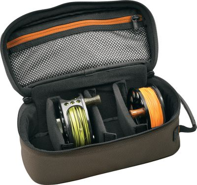 Flyfishing Protect and organize your reels and extra spools in this travel-friendly case. It has padded walls and nonscratch brushed liner fabric. Heavy-duty 1,680-denier ballistic-nylon shell fabric. Molded comfort handle. Mesh zippered pocket for easy viewing of contents. 200-cu.-in. capacity. Imported. Dimensions: 10L x 4W x 5H. Size: 4 REEL CASE. Type: Reel Cases. - $29.95