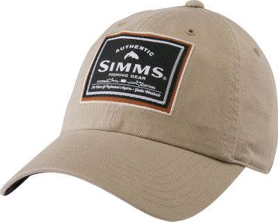 With a moisture-wicking, quick-dry mesh sweatband and UPF rating of 50, this cap keeps your head shaded and comfortable. Classic six-panel construction. Hook-and-loop closure is easy to adjust. 100% prewashed cotton twill. One size fits most. Imported.Colors: Gunmetal, Simms Camo, Tan. - $24.99