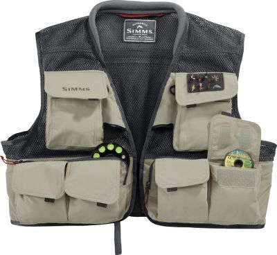 Flyfishing A lightweight mesh vest that is heavy on features, this is one fishing tool that you wont want to leave home without. Two built-in retractors and 19 pockets provide ample room for all your fishing gear without adding excess bulk. Polyester mesh vest has nylon pockets with a durable water-repellent finish. Imported. Sizes: M-2XL. Color: Sand. Size: 2XL. Color: Sand. Gender: Male. Age Group: Adult. Material: Polyester. Type: Vests. - $129.95