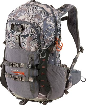 Hunting A proven performer for extended day trips. With 2,000 cu. in. of storage space, finding a place for all your gear has never been easier. The suspended, mesh-back panel creates a channel of air circulation, keeping you cool and dry when the weather gets warm. A gun and bow harness system secures your weapon of choice and keeps it at the ready. Hydration compatible. Imported.Camo pattern: OPTIFADE Concealment Open Country. - $299.99