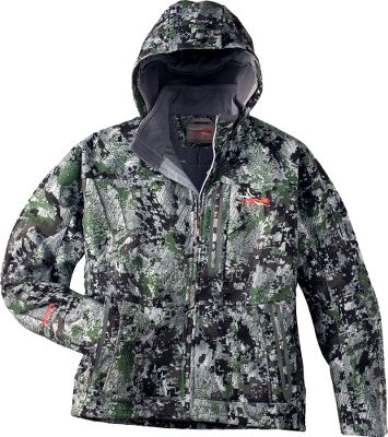 Hunting The midweight jacket eliminates bulk and gives you a full range of motion. Features an abrasion- and wind-resistant WindStopper fabric. The whisper-quiet, lightly brushed face is treated with a durable water-repellent finish. Features hand and chest pockets, stand-up collar and attached hood. Perfect for midseason hunting or layering in colder conditions. Imported. Sizes: M-2XL. Camo pattern: OptiFade Concealment Forest. Size: M. Color: Optifade Forest. Gender: Male. Age Group: Adult. - $144.88