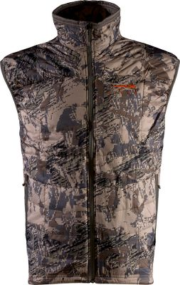Hunting At less than half the weight of the original Kelvin vest, the Kelvin Lite has just the right amount of insulation to regulate your core temperature during both the scouting and stalking phases of your hunts. Efficient PrimaLoft One insulation delivers a high warmth-to-weight ratio in a low-profile fit thats ideal for layering. Construction highlights include a wind-deflecting tightly woven polyester face and articulated patterning. 100% polyester. Imported. Sizes: M-2XL. Camo pattern: OptiFade Concealment Open Country Size: XL. Color: Optifade. Gender: Male. Age Group: Adult. Pattern: Camo. Material: Polyester. - $67.88