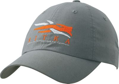Hunting Made of lightweight, 100% cotton. Sitka logo and raised embroidery on front. One size fits most. Imported. Color: Charcoal. - $14.88
