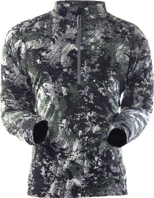 Hunting The high keratin content of the nonitch, 100% merino wool provides natural odor resistance. It retains warmth even when wet, and it wicks away moisture from the skin for added itch free comfort in warm and cold weather alike. Imported.Sizes: M-2XL.Camo patterns: OptiFade Concealment Open Country, OptiFade Concealment Forest. - $69.88