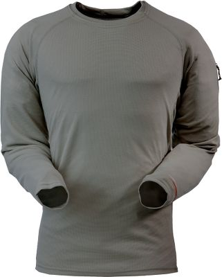 Hunting Utilizing antimicrobial technology, Sitka's line of lightweight, moisture-wicking clothing provides odor protection. Made of 100% polyester with four-way stretch for increased freedom of movement. Imported. Sizes: M-2XL. Color: Charcoal. - $29.88