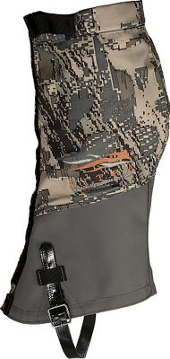 Hunting Built for extreme hunts in wet conditions. Breathable GORE-TEX Performance Shell uppers keep out water. Hypalon lower sections exhibit unbeatable abrasion resistance. Internal hook system eliminates exposure to exterior wear. OptiFade camouflage from W.L. GORE is the first and only concealment system ever scientifically designed around the way a hunters prey views the world. Its the only concealment system to combine a symmetry disrupting macropattern with the fractal-geometry-based micropattern designed to become nothing in the eyes of prey at engagement ranges of 20 meters and beyond. Velcro-close storm flaps increase protection. Full-front zipper allows easy on and off. Top cinch cords keep out debris. One size fits most. Imported. Ht: 12. Sizes: M/L, L/XL. Camo pattern: OptiFade Concealment Open Country. Size: Medium. Color: Optifade Opn Country. Gender: Male. Age Group: Adult. Pattern: Camouflage. - $149.00