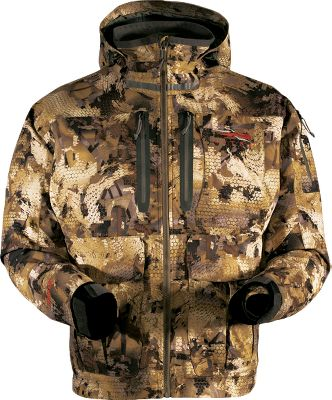 Hunting The combination of waterproof, breathable GORE-TEX fabric and ultra-efficient PrimaLoft Sport insulation shields you from late-season bitter cold and moisture. Durable water-repellent finish sheds moisture. Multiple hunter-designed pockets. Imported. Sizes: M-2XL. Camo pattern: OptiFade Concealment Marsh, OptiFade Concealment Timber. Size: Medium. Color: Optifade Timber. Gender: Male. Age Group: Adult. Pattern: Camo. Type: Jackets. - $489.00