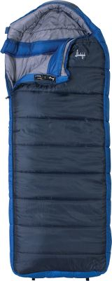 Camp and Hike Built for the extremes of wintertime camping, this heavy-duty sleeping bag will keep you sleeping soundly through the worst bone-chilling nights. The Slumberjack Esplanade 0F Sleeping Bag features dual-layer offset construction that maximizes heat retention by locking in warmth and sealing out the cold. An oversized side panel provides extra space so you can move around comfortably in the bag. The dual-layer hood can be flipped inside out to lay flat for extra ventilation or snugged tightly around your head for extra warmth. A draft collar and full-length draft tube over the zipper keeps cold from creeping in during the night. A convenient interior chest pocket keeps valuable safe and within reach. Imported. - $59.88