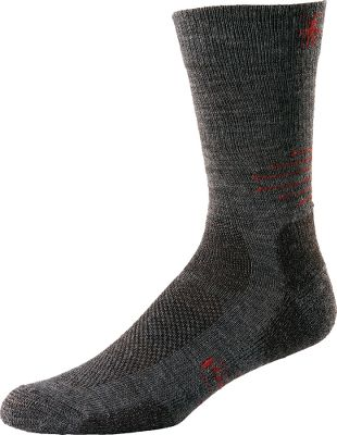 Incredibly durable, lightweight crew socks that are ideal for mild-weather outings. SmartWool Fit System allows your feet to flex without bunching for all:day wearability. High-impact zones are reinforced for durability. 75% merino wool, 24% nylon, 1% elastane blend provides itch-free, moisture-wicking comfort. Arch brace holds socks securely in place. Flat-knit toe seams for long-term comfort. Machine washable. Made in USA.Mens size: L(9 to 11-1/2)Colors: Taupe, Oatmeal. - $18.99