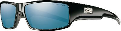 Hunting Fully polarized to cut glare off of horizontal reflective surfaces like water. Smiths Tapered Lens Technology provides distortion-free clarity and all-day optical comfort. Made from high-grade polycarbonate and engineered to be the most impact-resistant lens material in the world. Smith Carbonic sunglasses combine style with performance and have a lifetime warranty. - $119.00