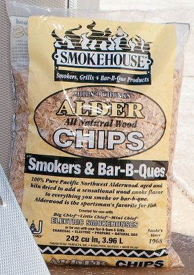 Camp and Hike For delicious, all-natural smoked flavor. Per four bags. Available: Chips Two hickory, one apple, one alder. 1-3/4-lb. bags. Pellets One hickory, one alder, one apple, one mesquite. 5-lb. bags. - $24.99