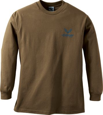 Hunting Put this shirt on and youll put the entire world of hunting inside your crosshairs. Crafted of 100% cotton for superior softness. Machine washable. Imported. Sizes: M-2XL. Color: Coffee. - $7.88