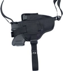 Entertainment Military-grade durability and performance-tested technology, tailor made for use with your handgun. Made in USA. The Jaguar In-The-Pant Holster has a reinforced thumbreak retention system that keeps your handgun secure during vigorous, fast-paced activity. Its lightweight nylon shell tucks easily and unobtrusively into waistbands. Ambidextrous design lets you switch the spring clip to the opposite side of the holster for right- or left-handed use. Can also be worn as a lightweight hip holster by attaching it to the outside of your pants. - $7.88