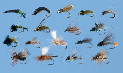 Flyfishing Caddis are found in almost every body of water that holds trout and this assortment includes all the flies needed to imitate the different stages of their life cycle from larva and pupa to adults. Includes two each of (size 16): Hot Butt CDC Caddis Emerger Elk Hair Skaddis Olive Parachute Caddis Olive Beadhead Caddis Larva Grannom Caddis Olive Swingin Caddis Tan Sparkle Pupa Beadhead Drifting Grannom Caddis Olive Crawling Caddis Beadhead Deep Six Cadis Pupa Olive Beadhead Good n Plenty Nymph Tungsten Soft Hackle Caddis Pupa Olive Elk Hair Caddis Olive Translucent Pupa Stalcups Olive PCH Caddis Emerger Harrops Green CDC Bubble Back Caddis Peacock Caddis CDC Low Profile Caddis (size 18) Color: Translucent. Gender: Male. Age Group: Adult. - $18.88