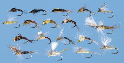 Flyfishing Pale Morning Duns are one of the most prolific hatches across the United States and this assortment includes all the flies needed to imitate the different stages of their life cycle from nymphs to emergers to adults. Assortment contains two each of the following patterns: Parachute Extended Body PMD (size 16) CDC PMD Dun (16)Drymerger PMD (16) Brook's Sprout PMD (16)Stalcup's Winger Emerger PMD (16) Harrop's DCripple PMD (16) Beadhead Bubble Back PMD (16)BTS Nymph PMD (16) Brown Killer Mayfly Nymph (16) Beadhead CDC Case PMD Emerger (16) Split Wing PMD (16) PMD Pull Over (16)PMD Cripple (16) Parachute PMD (16) RS-2 PMD (16) Beadhead Crystal Pheasant Tail PMD (16) Bead Thorax PMD Emerger (16) Loop Wing Emerger PMD (16) Available: Assortment only, Assortment with box. Color: Brown. Gender: Male. Age Group: Adult. - $74.99