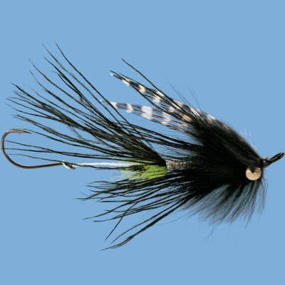 Flyfishing A steelhead-catching monster from professional Guide Scott Howell. It provides a large silhouette with easy casting and swimming characteristics. Per each. Size: 2. Colors: (009)Green, (012)Purple, (093)Crawdad, (203)Blue/Black, (307)Pink/Orange. Color: Blue/Black. - $3.99