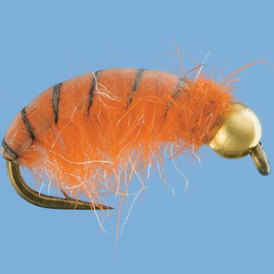 Flyfishing Heavily weighted Tungsten Czech Nymphs are an efficient way to catch more fish. The Czech method has proven to be extremely successful in competitive fishing tournaments. Per 2. Sizes: 8, 10, 12. Color: Orange. - $3.99