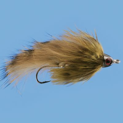 Flyfishing Tied to lure in big trout with realistic sculpin-like action. It's also great for sea-run trout, char, steelhead, grayling, salmon, rockfish and smallmouth. Per each. Sizes: 4, 8. - $0.88