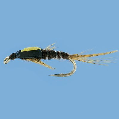 Flyfishing Realistic pattern imitates the split-wing case of an emerging mayfly. Per 2. Sizes: 18, 16. - $3.99