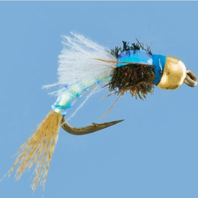 Flyfishing A caddis larvae imitation with a tungsten beadhead for quick-sinking action. Excellent when fished as a dropper. Per 2.Sizes: 14, 16, 18. Type: Wet Flies. Size 18. - $2.88