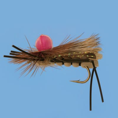 Flyfishing Highly visible Unibobber makes this hopper pattern easy to see and rings the dinner bell for trout. Per each.Size: 10. Type: Terrestrials. Size 10. - $1.88
