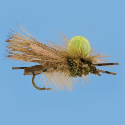 Flyfishing A Unibobber on the top of this fly makes it highly visible. Trout love the stonefly silhouette. Per each. Sizes: 6, 10. - $0.88