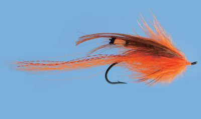 Flyfishing Long, large profile is a proven attractor with marabou collar, spey hackle and tinsel tail to trigger salmon and steelhead. Great for any condition; particularly effective in low, clear water. Per each. Size: 1.5. Color: Clear. - $3.29