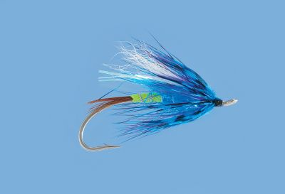 Flyfishing An effective pattern to entice even the most finicky summer run steelhead. Per each. Size: 5. Color: Blue. Color: Blue. - $3.29