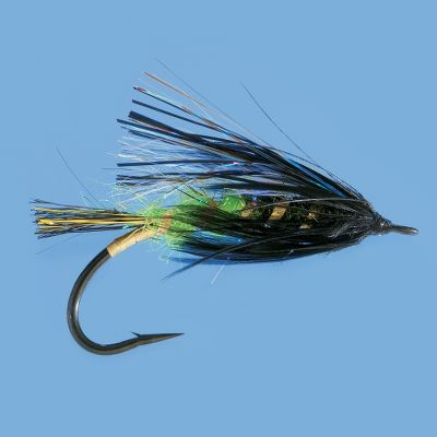 Flyfishing Great all-purpose salmon and steelhead fly for the low, clear water conditions of early fall. Dark colors with just enough flash to trigger wary fish. Per each. Size: 2. Color: Clear. - $3.29