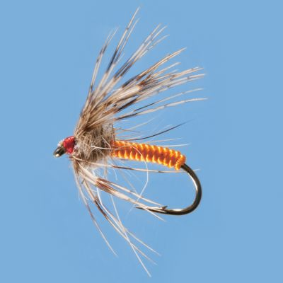 Flyfishing A classic nymph pattern imitating a wide variety of insects trying to reach the surface. Per 3. Sizes: 14,16,18. Color: Orange. - $0.88