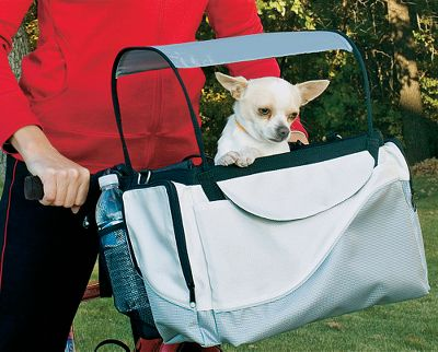 Hunting A fun, safe way to take your pet on your next bike ride. These bicycle baskets attach securely to any bike with an innovative bracket. Features a convenient removable sunshade for your pet's comfort. Adjustable safety leash keeps your pet safe while riding. Easily carry pets up to 13 lbs. Imported. Available: Sport Basket Made from durable polyester with reflective stripe for low-light safety. Features large zippered pockets for holding valuables, while additional pockets hold pet items such as leashes, treats and more. Dimensions: 13-1/2L x 10W x 10-1/2H. Weight: 6 lbs. Wicker Basket Authentic rattan wicker construction offers a traditional look and breathability while cruising. Removable, washable sheepskin liner for convenience. Dimensions: 16L x 12W x 10-1/2H. Weight: 4 lbs. - $69.99