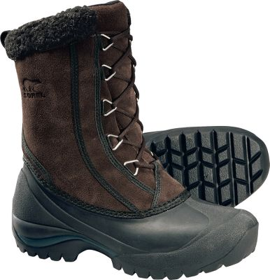 They'll be your go-to boots for winter recreation to a night on the town. Cozy Sherpa Pile snow cuffs keep out slush. Removable EVA footbeds. Injection-molded waterproof thermal rubber shells. Multidirectional lug outsoles. Imported. Women's sizes: 6-10 medium width. Half sizes to 10. Colors: Winter White, Hawk. - $69.88