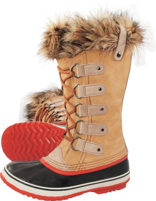 The Sorel Womens Joan of Arctic Winter Boots are perfect for women who love function and fashion. Seam-sealed, waterproof construction with full-grain leather and suede uppers. Handcrafted, waterproof, vulcanized rubber shells with herringbone outsoles. Faux-fur snow cuffs. 25mm bonded-felt frost plugs. Imported. Ht:12. Avg. wt: 3.9 lbs./pair. Womens whole sizes: 6-10 medium width. Colors: Tobacco, Black, Nori. Size: 6. Color: Green. Gender: Female. Age Group: Adult. Pattern: Herringbone. Material: Leather. Type: Boots. - $170.00