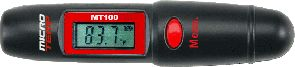 Fishing With a simple press of the button you can instantly determine the temperature of virtually anything you point the laser at even from a distance. This unique digital thermometer can be used for canvassing a stream or lake for likely fishing spots, and it's perfect for determining hatches, spawning times and feeding periods. Instantly locate cold or warm spots to quickly eliminate unproductive waters, without disturbing the surface and alerting fish to your presence. When not fishing, this handy device can be used for detecting a clogged catalytic converter, misfiring spark plug, sticking brake shoes and countless other uses. With so many practical applications, as well as a phenomenal fishing tool, it's a perfect gift for any outdoorsman, mechanic, horticulturist or hobbyist. Models:MT-100: -27 to 230 F MT-PRO: -76 to 932 F - $19.88