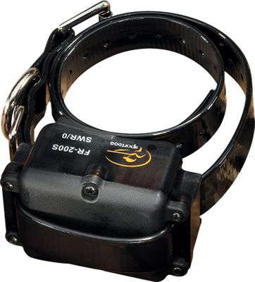 Entertainment Add-A-Dog receivers are waterproof and submersible. They use rechargeable, replaceable ni-mh batteries and have low-battery indicators. On and off switch on receiver. Standard Add-A-Dog collars will work with any Field Trainer transmitter. Includes both a black and green collar strap. - $83.88