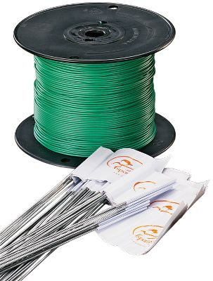 Hunting By purchasing additional wire and flag kits, you can expand the containment area. Includes 500 ft. of wire and 50 flags. Gender: Male. Age Group: Adult. - $64.99