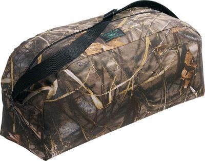 Hunting Tired of not having an organized way to transport and store your expensive motorized decoy and accessories With separate inside pockets for the wings and batteries/charging units, this rugged bag ends that problem for good. It's constructed of virtually indestructible waterproof fabric with a closed-cell foam lining that not only cushions and protects your decoy during rough travel, but adds buoyancy to ensure the bag floats if dropped in the water. It also has a handy shoulder strap for comfortable carrying. Made in USA. - $14.99