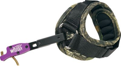 Hunting A wrist-strap-type release with the quality and accuracy of a target release. It utilizes the lightest trigger ever created for hunting. Microadjustable length, fail-safe trigger with no trigger travel, rigid body, magnetic wrist strap and a quick-loading jaw that results in a torque-free release when using a D-loop. Forward trigger design. Made in USA. Available: Buckle. Color: Multi. Type: Wrist-Strap Releases. - $99.99