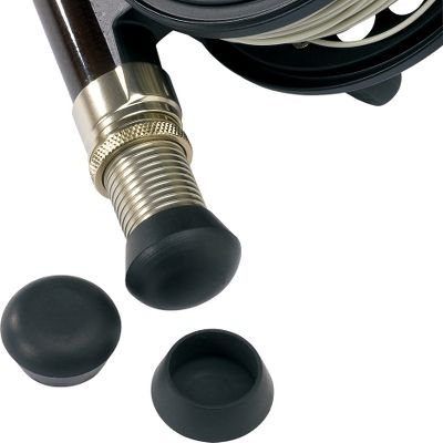 Flyfishing Get your rod ready for the fight ahead. These rubber caps fit over nonfighting-butt reel seats for extra comfort when fighting a fish. They also protect the reel seat from scratches. Per 3. Type: Handle Components. - $7.88