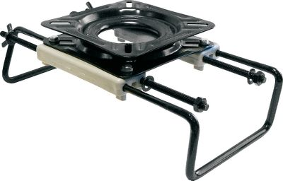 Motorsports 360 clamp-style swivel fits an 8 to 21 tank or board-type seat. - $39.99