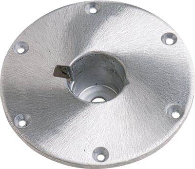 Motorsports Springfield Taper-Lock bases fit Hi-Lo Taper-Lock, Nonadjustable, Adjustable and Power Pedestals. The 9 diameter taper-lock flush-mount base requires a 3 deep clearance hole in the deck. Type: Bases. - $29.99