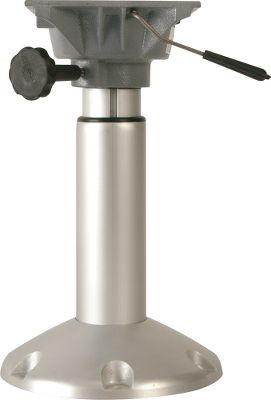 Motorsports The Springfield Mainstay Power Pedestal allows you to squeeze the easy-to-reach handle to select the height thats right for you. It adjusts from 14-1/2 to 19-1/2. Anodized finish. It comes with a sealed gas-powered cylinder. Available: 14-20 Lock. - $169.99