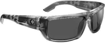 Entertainment Sleek, SPY Bounty Nonpolarized sunglasses Grilamid frame is rugged enough for your active lifestyle. Grey polycarbonate lenses deliver 100% UV protection. Durable metal hinges and details. ANSI Z87.1-certified lens retention and impact-resistant. Color: Metal. - $85.00