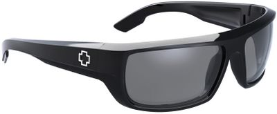 Entertainment Featuring sleek, Grilamid frames the Spy Bounty Polarized Sunglasses are rugged enough for your active lifestyle. Gray polarized polycarbonate lenses deliver 100% UV protection and reduce 99.9% of blinding glare. Durable metal hinges and details. ANSI Z87.1-certified lens retention and impact resistance. Color: Metal. - $135.00
