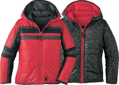 "Reverses for two jackets in one. Polyester downproof taffeta shell with Spylon durable water-repellent finish. 160-gram ThermaWeb insulation. Imported.Center back length: 22"". Sizes: S-XL.Colors: Red, Smoked. - $9.88"